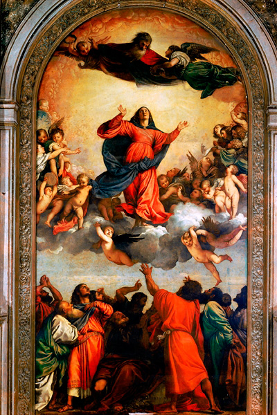 Basilica dei Frari Titian's The Assumption