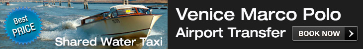 Venice Airport Transfer Shared Taxi