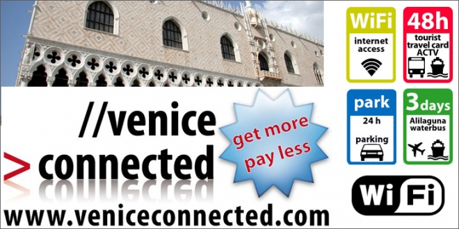 Venice Connected Website.