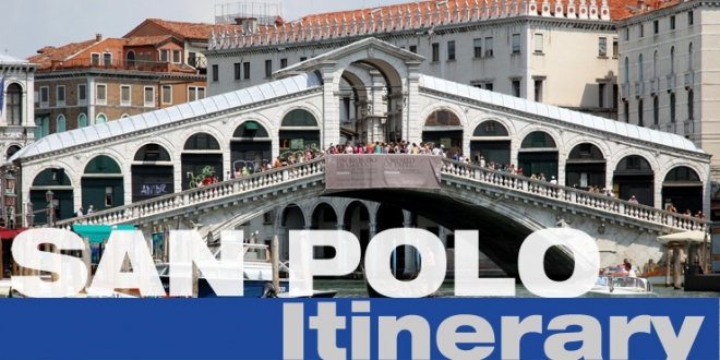 San Polo Itinerary.